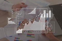 Concept bedrijfsanalyse royalty-vrije stock foto's