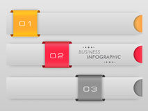 Concept bedrijfsinfographics Royalty-vrije Stock Fotografie