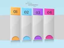 Concept bedrijfsinfographics Stock Fotografie