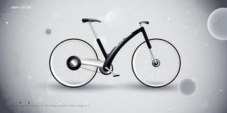 Concept bike for urban transportation. product Royalty Free Stock Image