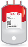 Concept of blood donation Stock Photo