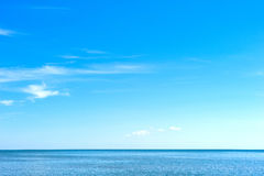Concept of blue sea Stock Photography