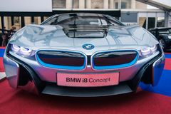 Concept BMW I8 Royalty Free Stock Image