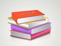 Concept of books stack. Stock Photo