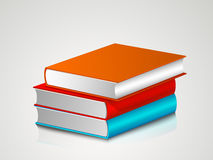 Concept of books stack. Stock Photography