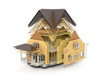 Concept bouw stock illustratie