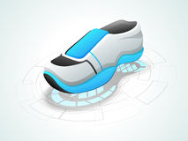 Concept of boy's shoes. Royalty Free Stock Photo