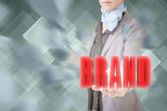 Concept of brand Royalty Free Stock Image