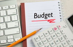 Concept of budget Royalty Free Stock Image