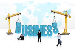 Business people development - isolated Stock Photos