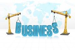 Business development concept Royalty Free Stock Photos