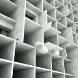 Concept of building structures. 3d rendering Stock Illustration