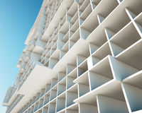 Concept of building structures. 3d rendering Royalty Free Illustration
