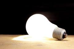 Concept a bulb Stock Photo