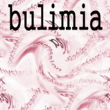 Concept bulimia Royalty Free Stock Photos
