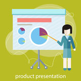 Concept for business conference and presentation Stock Photo