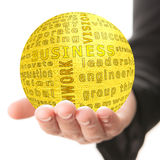 Concept of business Stock Image