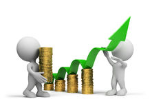 Concept of business growth Stock Photos