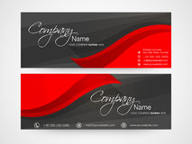 Concept of business header. Stock Images