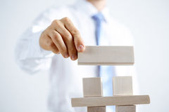 Concept of business hierarchy and human resources Royalty Free Stock Photography
