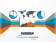 Concept of business infographic element. Stock Photo
