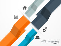 Concept of business infographic. Stock Photo