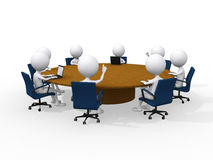 Concept of business meeting Royalty Free Stock Photos