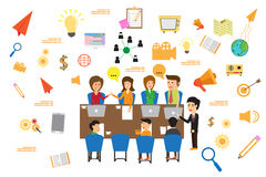 Concept of business meeting. Stock Images