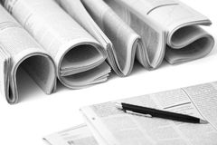 Concept of business news Stock Images