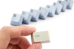 Concept of business success Royalty Free Stock Photos