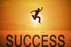 Concept for business success royalty free stock photo