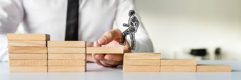 Concept of business teamwork and collaboration royalty free stock photo