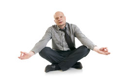 Concept of business yoga Stock Image