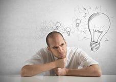 Creative business idea stock images