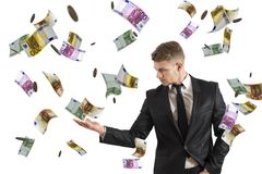 Earn money Royalty Free Stock Photos