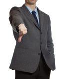Concept of  businessman - failure Stock Image
