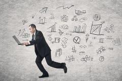 Concept businessplan royalty-vrije stock foto