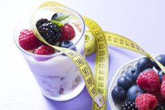 Concept of calories and diet Royalty Free Stock Image