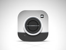 Concept of camera for photography. Stock Image