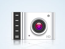 Concept of camera for photography. Royalty Free Stock Photo