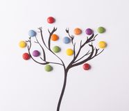Concept with candies Royalty Free Stock Images