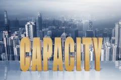 Concept capaciteit Royalty-vrije Stock Foto's