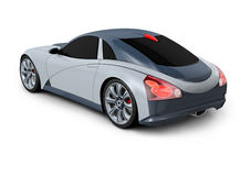 Concept Car 3D Design Stock Photo