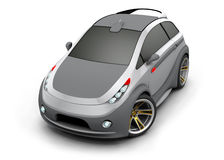 Concept Car. Made ​​in three-dimensional software Royalty Free Stock Photography