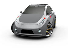 Concept Car. Made ​​in three-dimensional software Royalty Free Stock Images