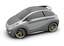 Concept Car. Made ​​in three-dimensional software Stock Image