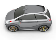 Concept Car. Made ​​in three-dimensional software Stock Photos