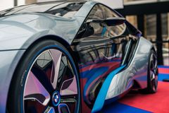 Concept car BMW I8 Stock Photo