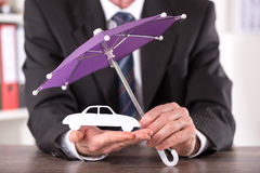 Concept of car insurance Royalty Free Stock Photography