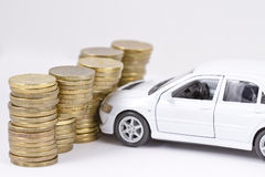 Concept : car insurance Stock Images